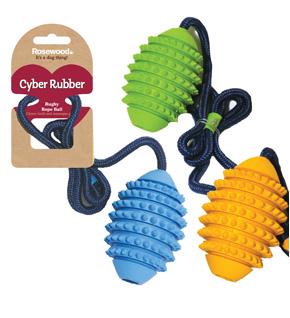 Грейфер для собак Rosewood Сyber Rubber