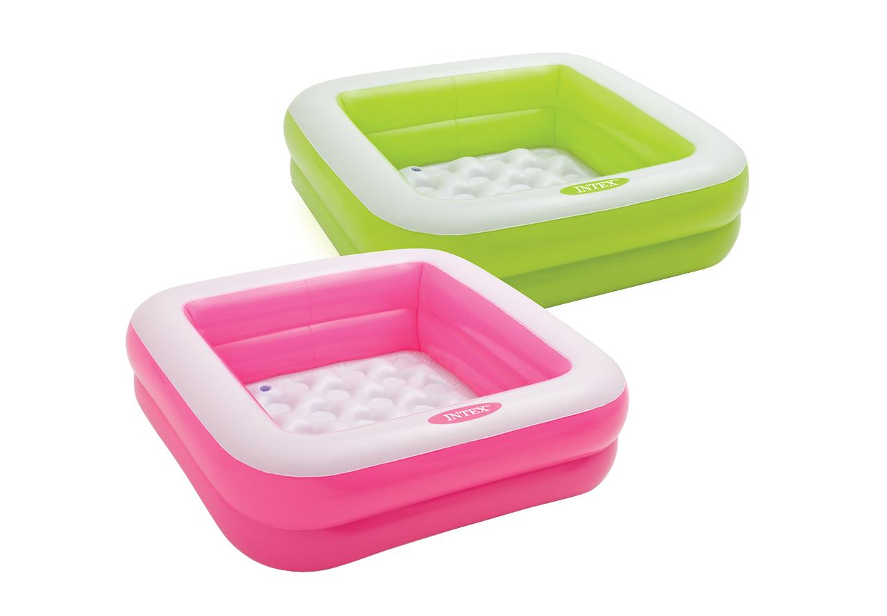 Купить Int57100NP, Детский бассейн INTEX Play Box Pools 85х85х23 см, Детские бассейны