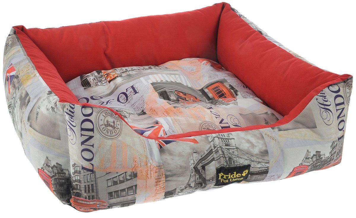Лежак для животных Винтаж Pride Лондон70х60х23см