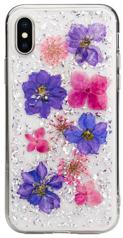 Чехол SwitchEasy Flash для iPhone XS (Purple)