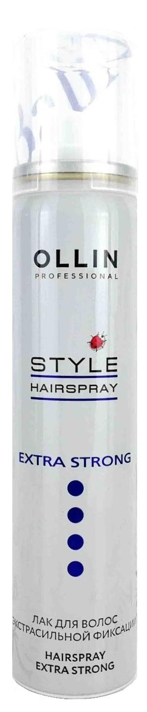 Лак для волос Ollin Professional Style Hairspray Extra Strong 75 мл