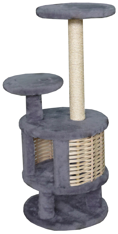 Комплекс для кошек Пушок Круглый с плетеными