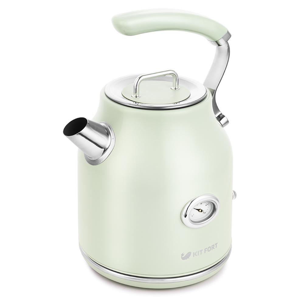 Чайник электрический Kitfort КТ-663-4 Lite Green фото