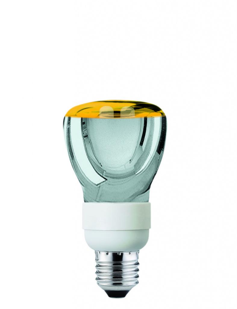 ESL R R63 7W E27 Goldlicht 86008