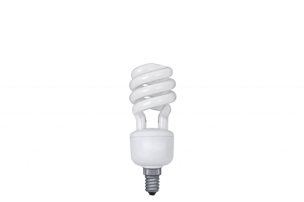 Лампа энергосберегающая, спираль 11W E14 теплый бел., экстра 89436