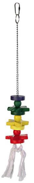 Игрушка для попугаев TRIXIE TX 5195, деревянная,