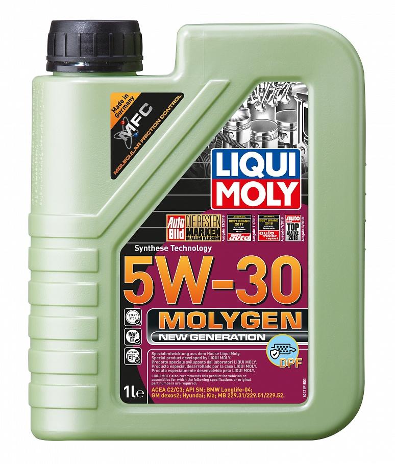 Моторное масло Liqui moly Molygen New Generation DPF фото
