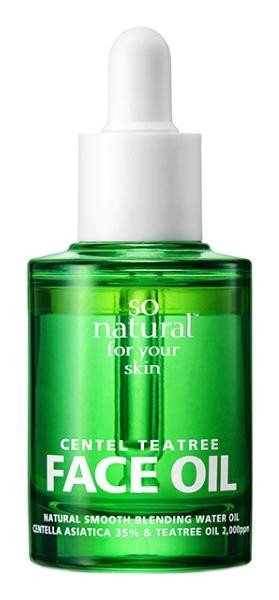 Купить Масло для лица So Natural Centel Tea Tree Face Oil 30 мл