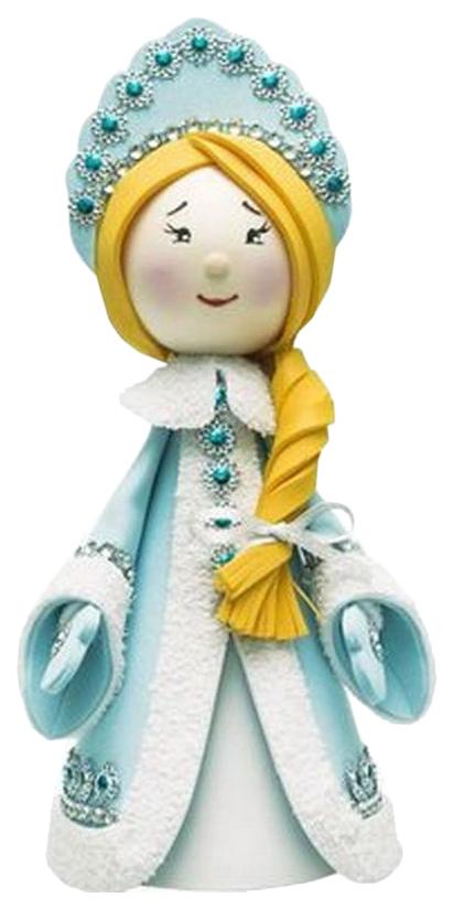 Набор для творчества ВОЛШЕБНАЯ МАСТЕРСКАЯ К013 Создай куклу Снегурочка