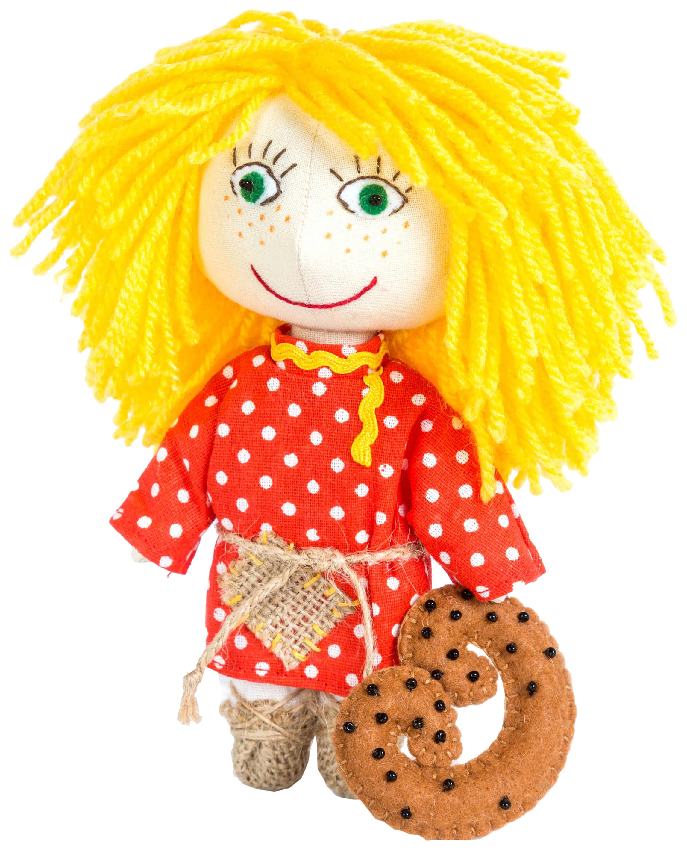 Купить ПЕРЛОВКА Набор для создания текстильной игрушки Домовёнок, 15, 5 см, 904696, Перловка, Рукоделие