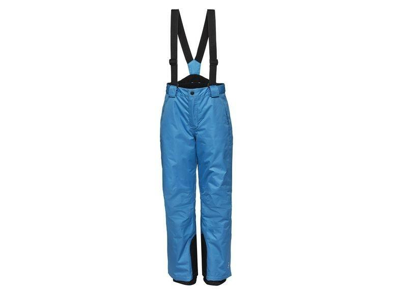 Купить Брюки для мальчика горнолыжные Crivit голубые р.158-164, Полукомбинезоны детские