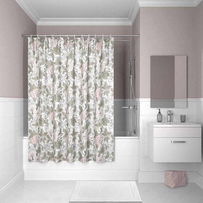Штора для ванной комнаты IDDIS Décor D05P218i11
