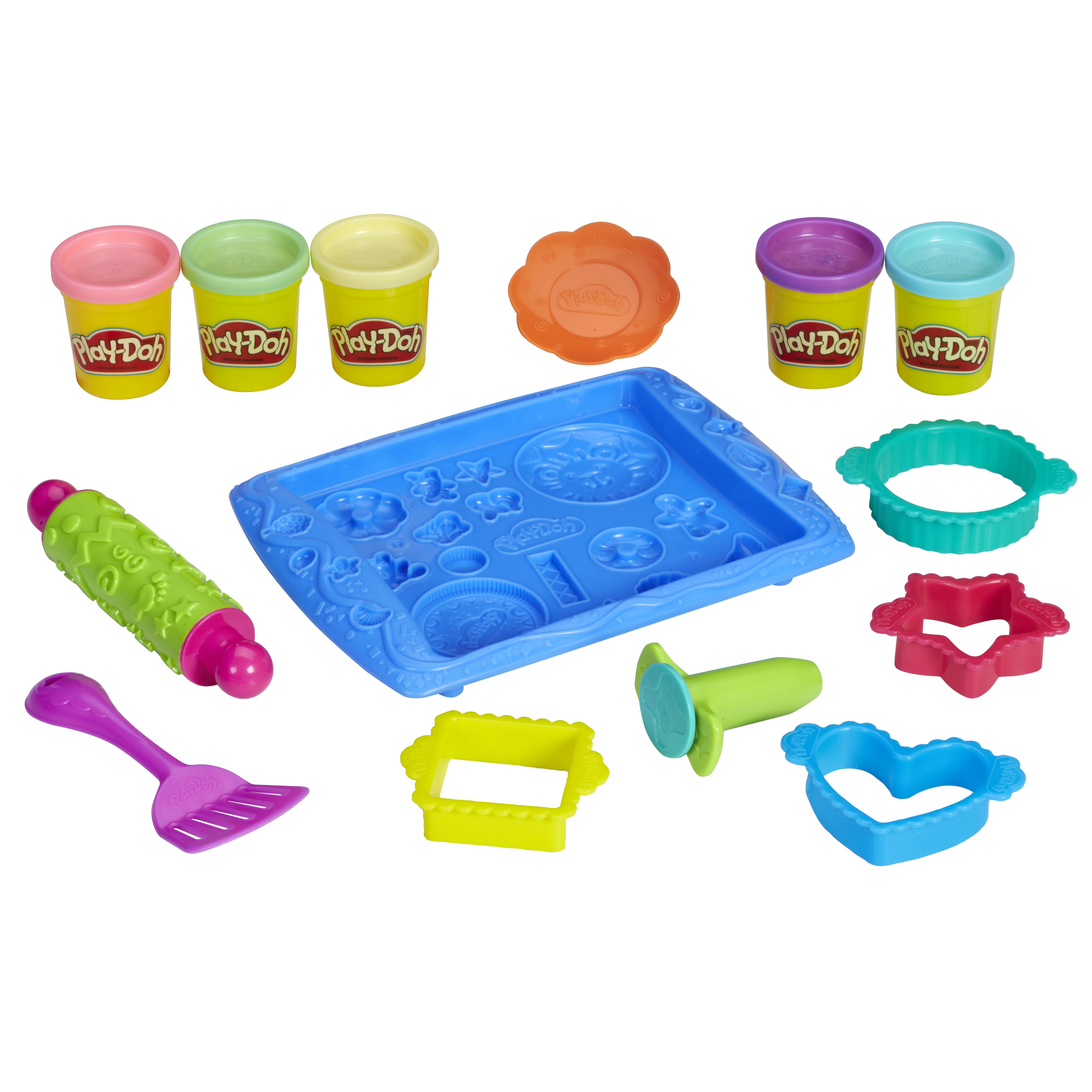 Набор для лепки из пластилина play-doh магазинчик печенья b0307