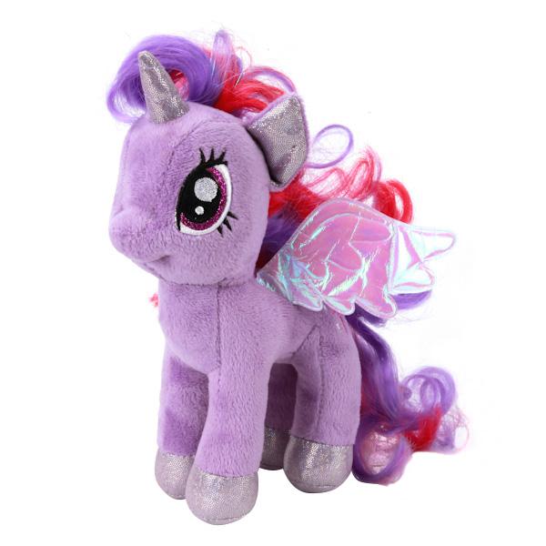 Мягкая игрушка Мульти-Пульти Пони искорка (my little pony) озвученная 18 см