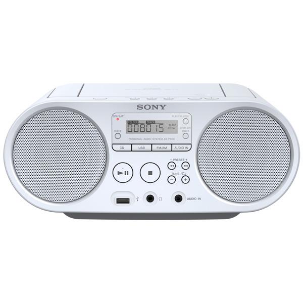 Магнитола Sony ZS PS50/WС Белый