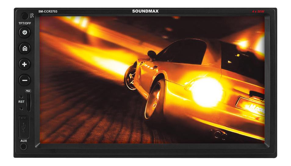 Автомобильная магнитола Soundmax SM-CCR3703