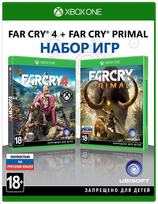 Игра для Xbox One Far Cry 4+Far Cry Primal фото