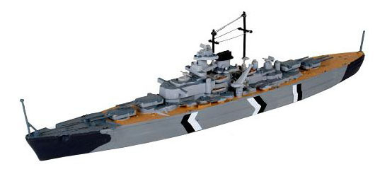 Набор линкор «бисмарк»