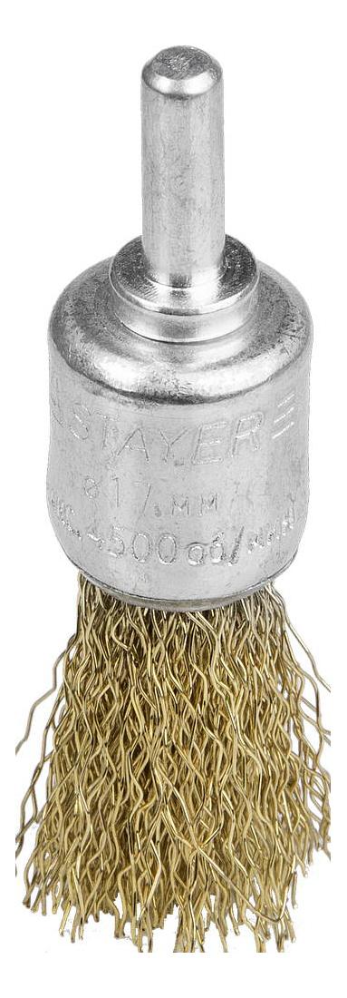 Кистеобразная кордщетка для дрелей, шуруповертов Stayer 35113-17 фото