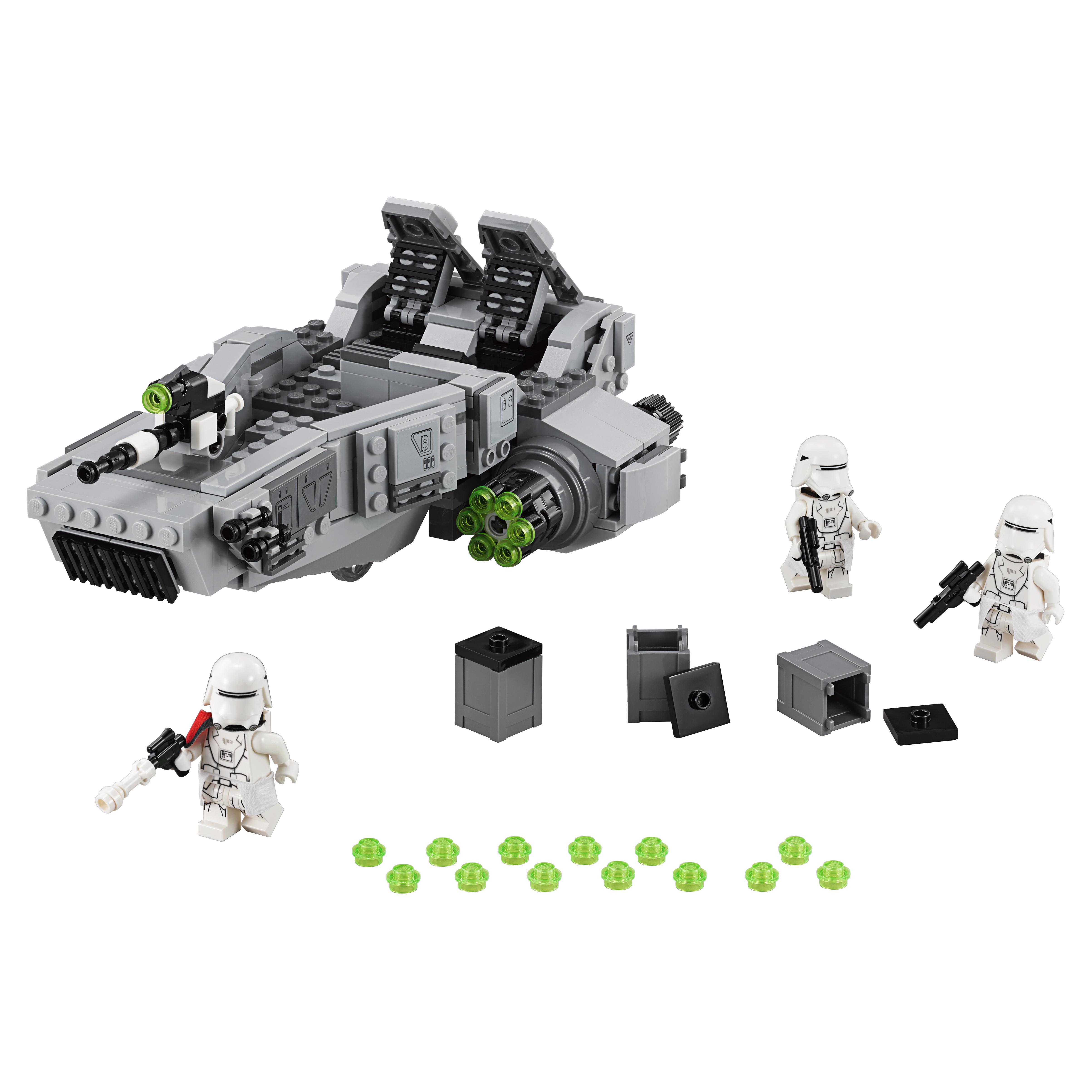 Конструктор LEGO Star Wars Снежный спидер Первого Ордена (First Order Snowspeeder) (75100) конструктор lego star wars снежный спидер первого ордена first o