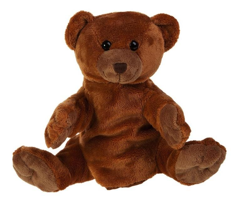 Мягкая игрушка Gulliver Рукавичка-Медведь, 27 см
