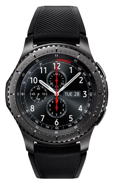 Смарт часы Samsung Gear S3 Frontier Black/Black