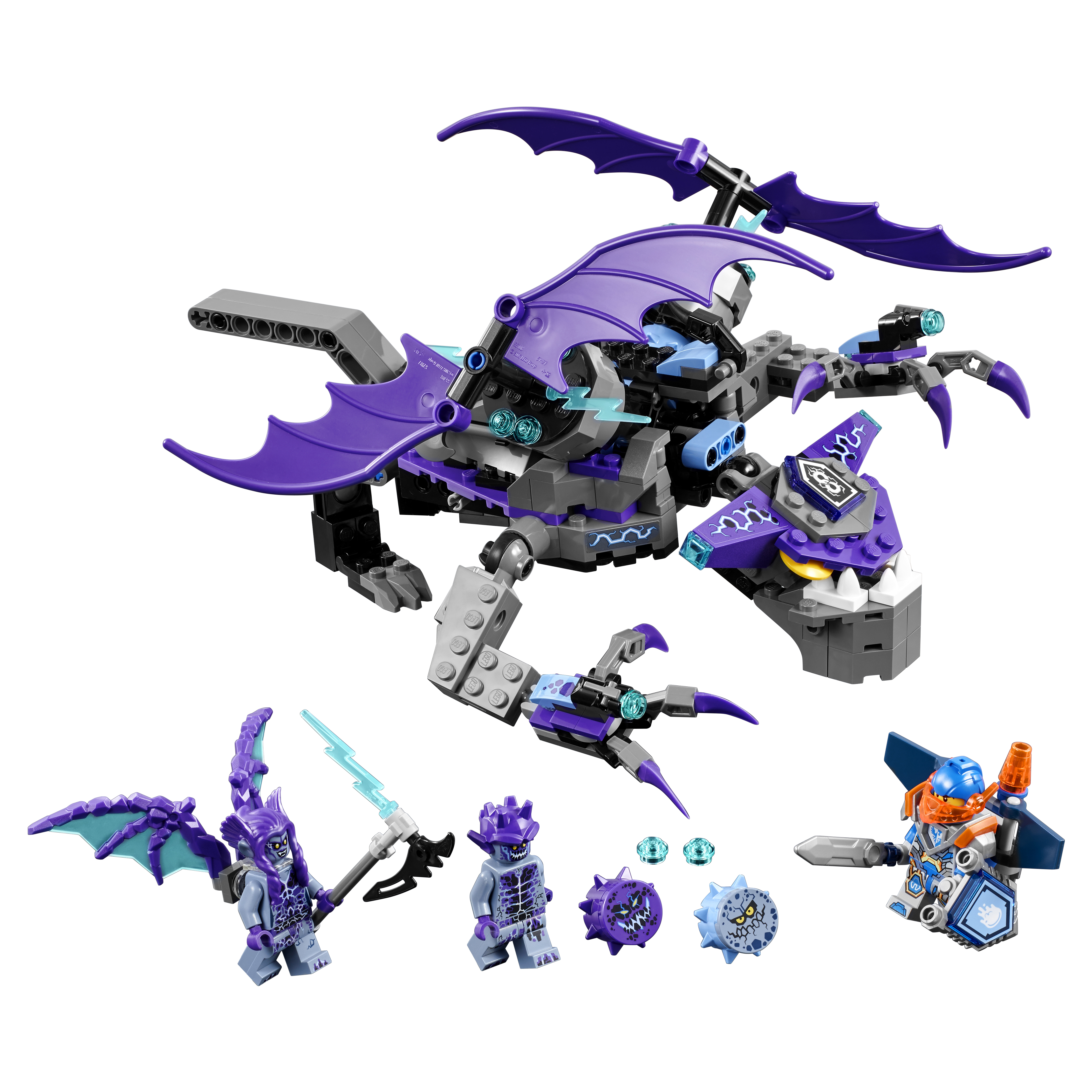 Купить Конструктор LEGO Nexo Knights Летающая Горгулья (70353),
