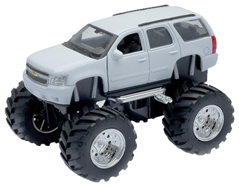Купить Коллекционная модель Welly Chevrolet Tahoe Big Wheel 47002 1:34,