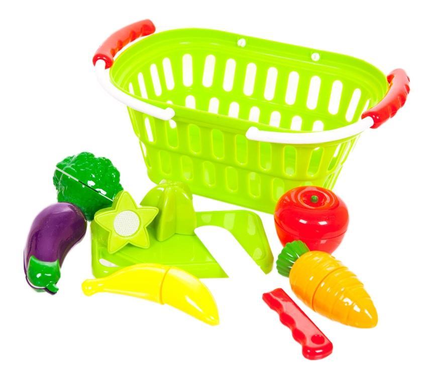 Купить Помогаю Маме, Помогаю маме. набор продуктов для резки на липучках pt-00470, ABtoys, Игрушечные продукты