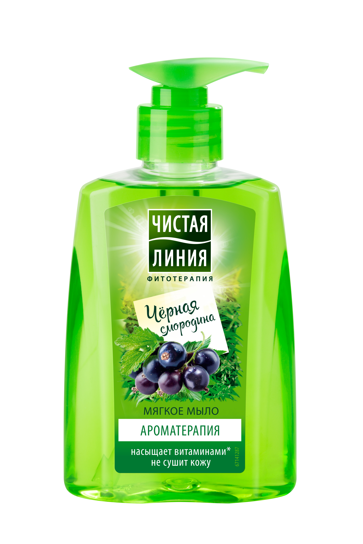 Жидкое мягкое крем-мыло Чистая Линия Ароматерапия 250 мл