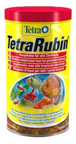 Корм для рыб Tetra Rubin, для улучшения окраса, хлопья, 100 мл фото