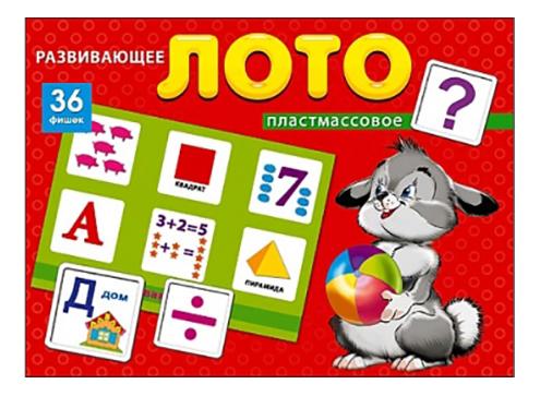 Купить Семейная настольная игра Лото Рыжий Кот Развивающее лото, Рыжий кот, Семейные настольные игры