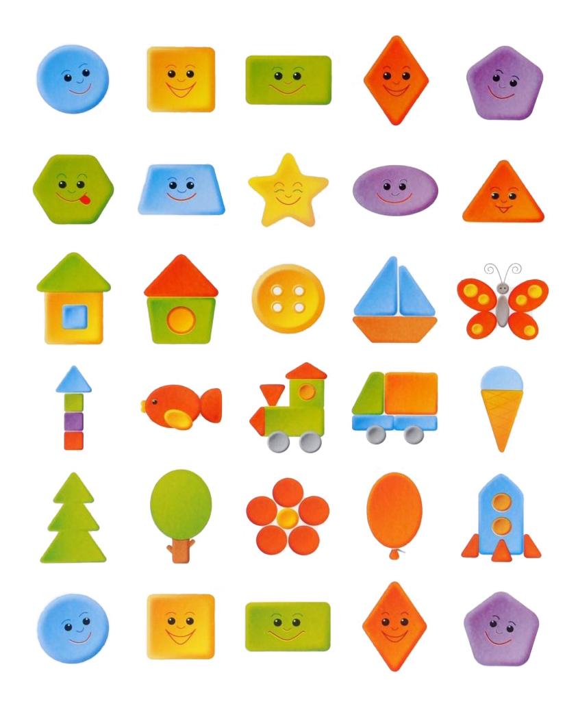 Наклейка декоративная для детской комнаты Мозаика-синтез Веселая геометрия