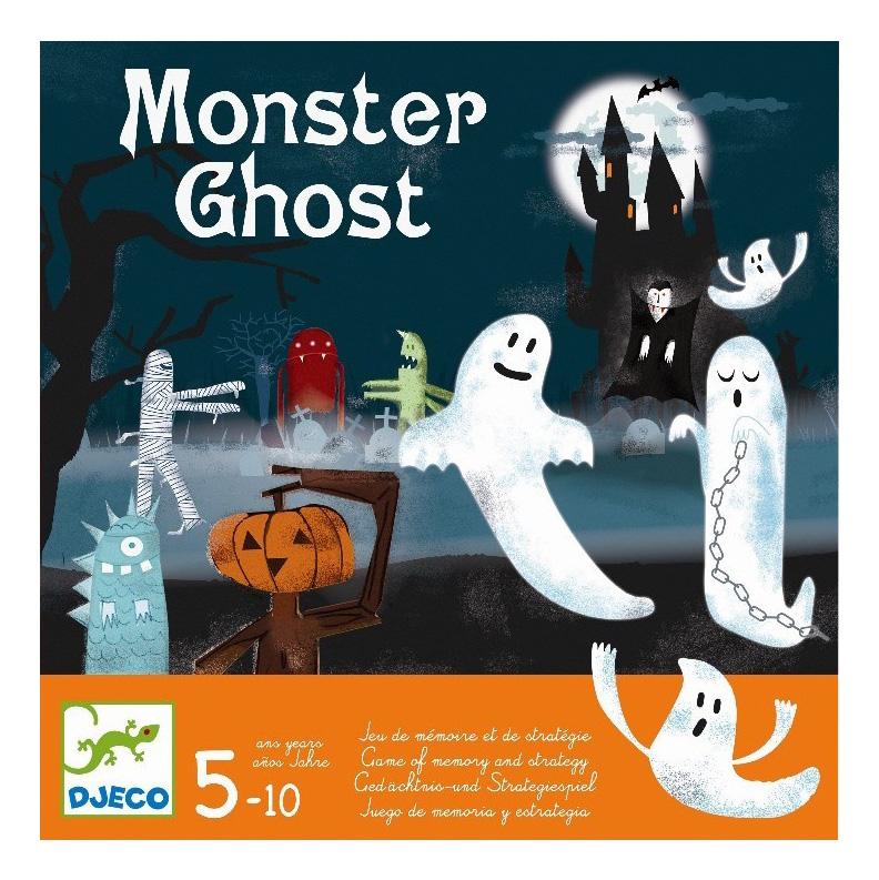 Купить Семейная настольная игра Djeco Привидения, Семейные настольные игры