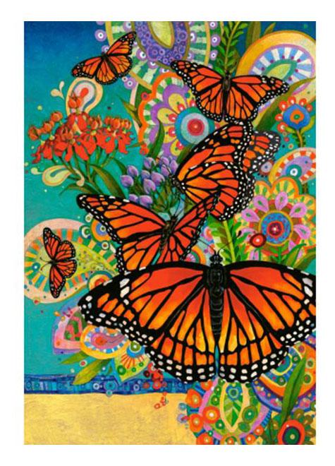 Пазл Castorland Бабочки 1000 деталей