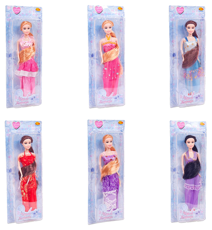 Кукла ABtoys Модница 6 видов в ассортименте