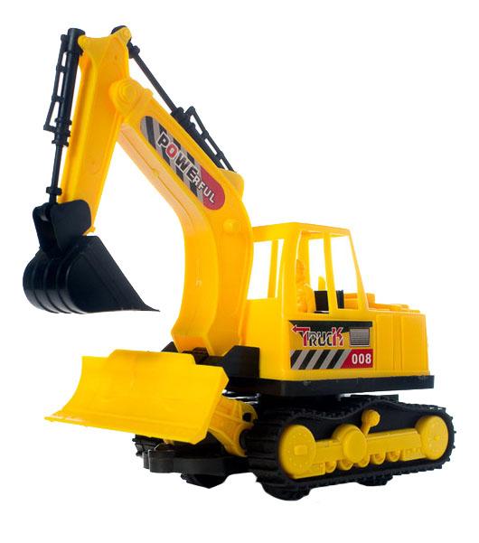 Купить Экскаватор Powerfull Truck, Экскаватор Junfa Toys Powerfull Truck 3250AB, Строительная техника