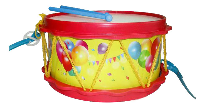 Купить Барабан Друг, Барабан игрушечный ТулИгрушка Барабан Друг, Детские музыкальные инструменты