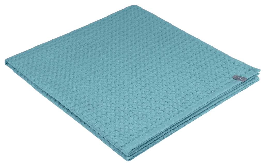 Банное полотенце Move piquee голубой