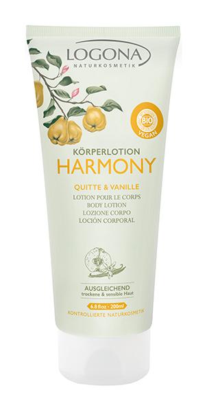 Лосьон для тела Logona Harmony Body Lotion Quince & Vanilla 200 мл фото