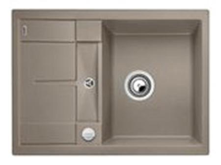 Мойка для кухни гранитная Blanco METRA 45 S Compact 519580 серый беж