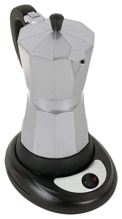 Гейзерная кофеварка Endever Costa 1010 Black/Silver