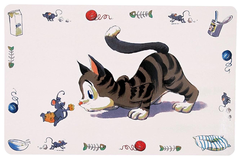 Trixie Коврик под миску Comik Cat