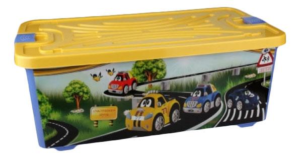 Ящик для хранения игрушек Альтернатива Форсаж 75 л