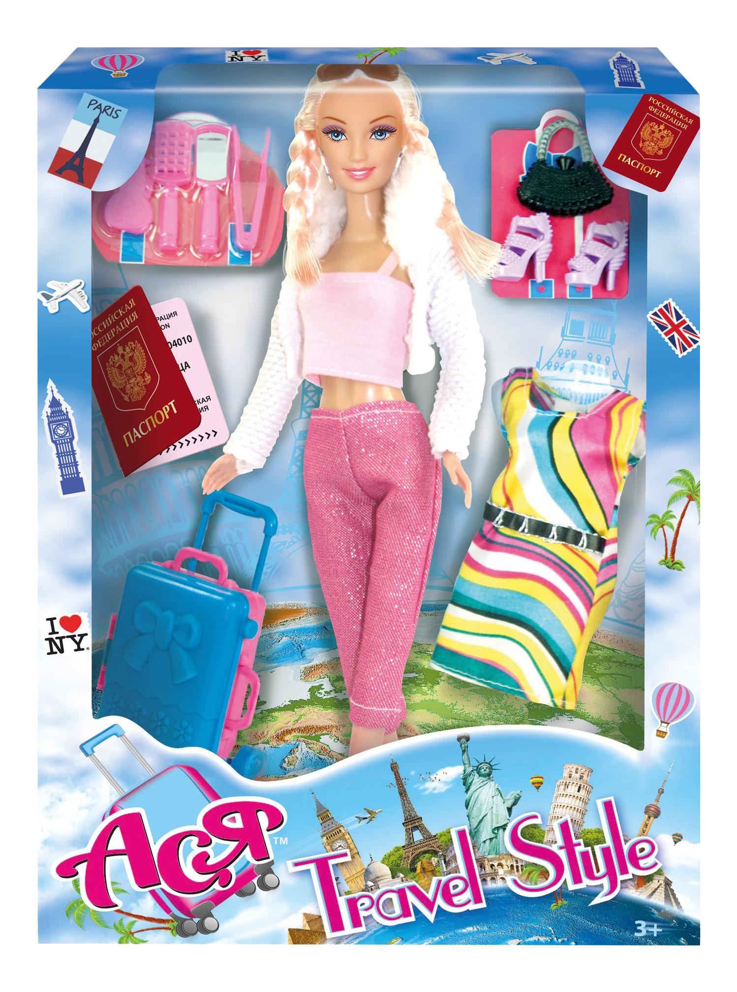 Кукла ToysLab Entertainment Ася Блондинка с косичками
