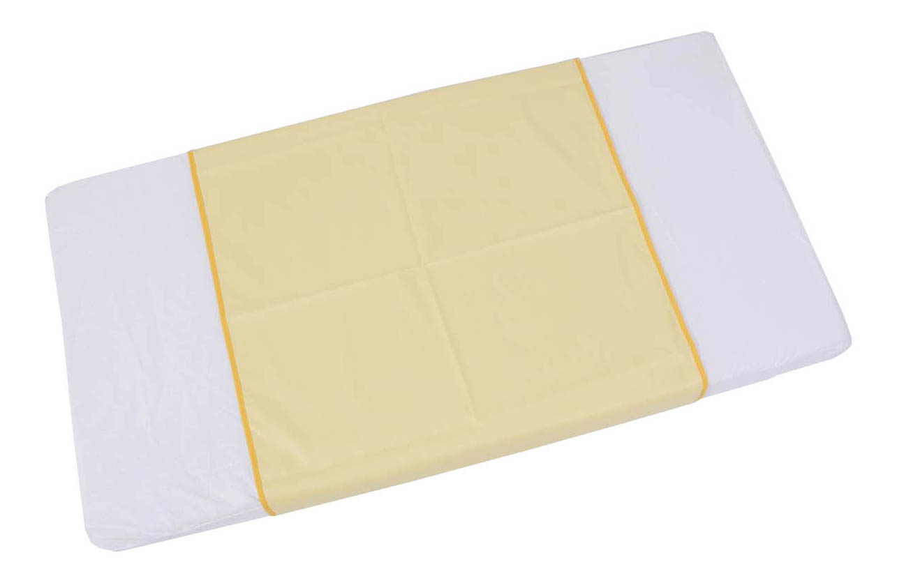 Пеленки для детей Фея 68x100 см желтая