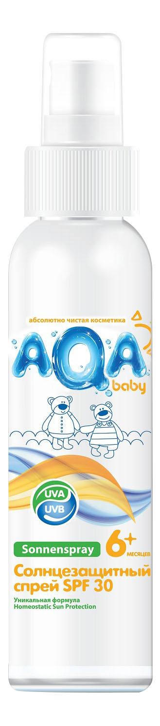 Солнцезащитное средство для детей AQA baby SPF