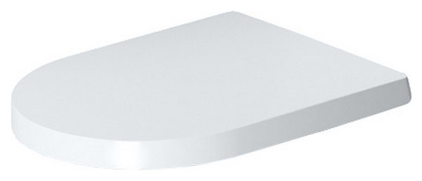 Сиденье с мех,плав,закр белое Duravit ME BY STARCK 0020190000, 1 шт,, белое