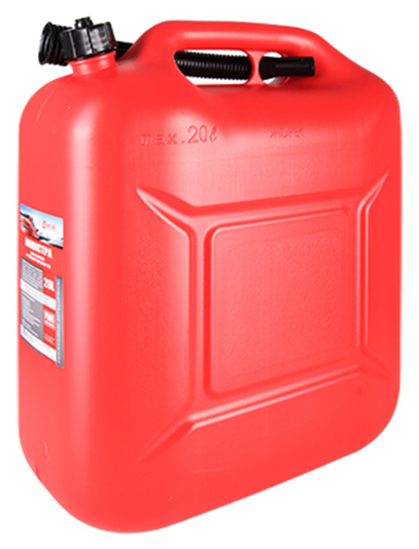Канистра для бензина 3ton 20 л красный