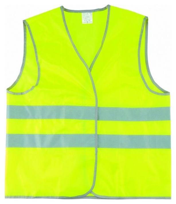 Светоотражающий жилет Сибртех жёлтый, серый 89515